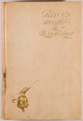 Books:Children's Books, Lewis Carroll. Alice's Adventures in Wonderland. New Yorkand London: Harper & Brothers, 1901. First Newell illustra...