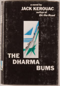 Books:Literature 1900-up, Jack Kerouac. The Dharma Bums. New York: Viking, [1958].First edition. Octavo. 244 pages. Publisher's binding, dust...
