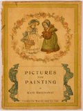 Books:Children's Books, Kate Greenaway. Lot of 5 Painting Books. [London and New York:Various Publishers, 1882-1900]. Five octavo volumes. Publishe...