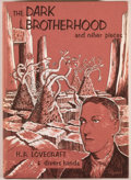 Books:Horror & Supernatural, H. P. Lovecraft and Divers Hands. The Dark Brotherhood and OtherPieces. Sauk City: Arkham House, 1966. First editio...