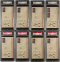 Autographs:Others, 1939 Al Simmons Signed First Day Covers Lot of 8. ...