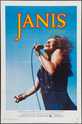 """Movie Posters:Rock and Roll, Janis (Universal, 1975). One Sheet (27"""" X 41""""). Rock and Roll.. ..."""