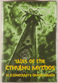 Books:Horror & Supernatural, H. P. Lovecraft & Divers Hands. Tales of the CthulhuMythos. Sauk City: Arkham House, [1990]. Golden Anniversary...