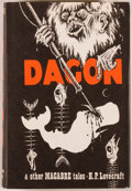 Books:Horror & Supernatural, H. P. Lovecraft. Dagon and Other Macabre Tales. Sauk City:Arkham House, 1965. First edition, one of 3,500 copie...