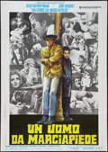"Movie Posters:Academy Award Winners, Midnight Cowboy (United Artists, 1969). Italian 2 - Foglio (39"" X55""). Academy Award Winners.. ..."
