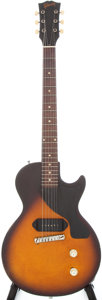 Musical Instruments:Electric Guitars, 1957 Gibson Les Paul Junior Sunburst Solid Body Electric Guitar,Serial # 76120....