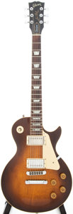 Musical Instruments:Electric Guitars, 1982 Gibson Les Paul Standard Tobaccoburst Solid Body ElectricGuitar, Serial # 80562532....