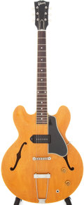 Musical Instruments:Electric Guitars, 1960 Gibson ES-330 Natural Semi-Hollow Body Electric Guitar, Serial# R356324....