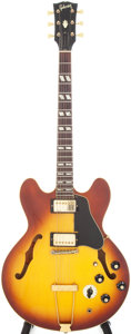 Musical Instruments:Electric Guitars, 1968 Gibson ES-345 Sunburst Semi-Hollow Body Electric Guitar,Serial # 899360...