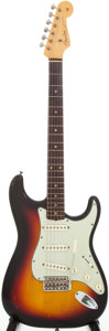 Musical Instruments:Electric Guitars, 1962 Fender Stratocaster Solid Body Electric Guitar, Serial #79206...