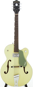Musical Instruments:Electric Guitars, 1959 Gretsch Anniversary Two-Tone Smoke Green Semi-Hollow ElectricGuitar, Serial # 32879....