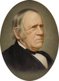 Texas:Early Texas Art - Impressionists, UNKNOWN. Portrait of Sam Houston. Oil on heavy paper mountedon canvas. 20in. x 16in.. Unsigned. A portrait of Texas f...