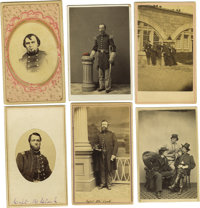 Cartes de Visite: An Interesting Group Lot of 18 As shown , this includes six identified (one of General Hennson) an
