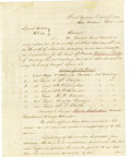 Autographs:Military Figures, Robert E. Lee Signed Letter Dated October 17, 1860. Robert E. Lee, later the heralded leader of the Confederate States Army ...