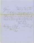 Autographs:Military Figures, Group Lot of Ten Confederate Generals' Autographs consisting of: .Thomas James Churchill- Nice 1891 ALS. Churchill was ...