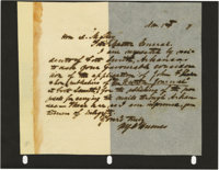 "Group Lot of Ten Confederate Generals' Autographs consisting of: William Young Conn Humes- ANS, one page 9.25"" x 7..."