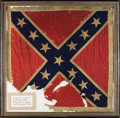 Military & Patriotic:Civil War, The Personal Battle Flag of Confederate General JEB Stuart, The Most Famous Cavalry Officer of the Civil War. General James ...