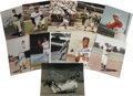 "Autographs:Photos, Baseball Stars Signed Photograph Lot of 53. Large assortment of8x10"" photos is signed in sharpie by the men pictured. Alm..."