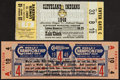 Baseball Collectibles:Tickets, 1948 & 1949 World Series Tickets Pair (2). ...