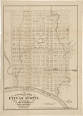 Miscellaneous:Maps, Reuben W. Ford. Topographical Map of the City of Austin....
