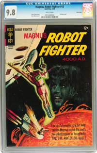 Magnus Robot Fighter #13 Twin Cities pedigree (Gold Key, 1966) CGC NM/MT 9.8 White pages