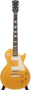 Musical Instruments:Electric Guitars, 1995 Gibson Les Paul 1960 Classic Goldtop Solid Body ElectricGuitar, Serial # 52805....