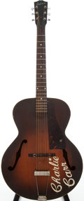 Musical Instruments:Acoustic Guitars, 1940s Gibson L-50 Sunburst Archtop Acoustic Guitar, #N/A....