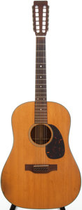 Musical Instruments:Acoustic Guitars, 1966 Martin D-12-20 Natural 12 String Acoustic Guitar, Serial # 214704....