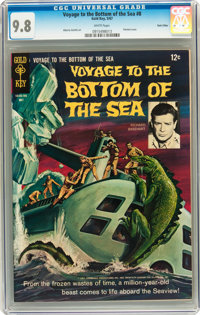 Voyage to the Bottom of the Sea #8 Twin Cities pedigree (Gold Key, 1967) CGC NM/MT 9.8 White pages