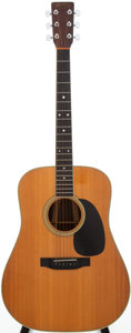 Musical Instruments:Acoustic Guitars, 1986 Martin D-35 Natural Acoustic Guitar, Serial # 460623....