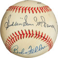 Baseball Collectibles:Balls, Players With 325 K's in a Season Multi Signed Theme Baseball....