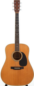 Musical Instruments:Acoustic Guitars, 1977 Martin D-35 Natural Acoustic Guitar, Serial # 398792....