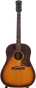 Musical Instruments:Acoustic Guitars, 1953 Gibson J-45 Sunburst Acoustic Guitar, Serial # Y6586....