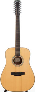 Musical Instruments:Acoustic Guitars, 2000s Larrivée D-12 Natural 12-String Acoustic Guitar, Serial # 24680....