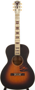 Musical Instruments:Acoustic Guitars, 1937-38 Gibson HG-Century Sunburst Acoustic Guitar, Serial #832B....