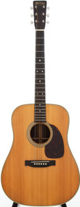 Musical Instruments:Acoustic Guitars, 1956 Martin D-28 Natural Acoustic Guitar, Serial # 147805....
