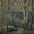 Paintings, JOHN EDWARD COSTIGAN (American, 1888-1972). In the Woods. Oil on canvas. 30 x 30 in.. Signed lower right. ...