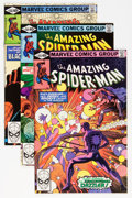 Modern Age (1980-Present):Superhero, The Amazing Spider-Man Group - Twin Cities pedigree (Marvel,1980-89) Condition: Average NM.... (Total: 23 Comic Books)