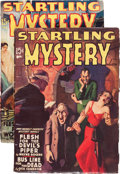 Pulps:Horror, Startling Mystery Magazine Group (Fictioneers Inc., 1940)Condition: Average VG-.... (Total: 2 Items)