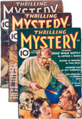 Pulps:Detective, Thrilling Mystery Group (Standard, 1935-36) Condition: AverageFN-.... (Total: 3 Items)