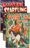 Pulps:Science Fiction, Startling Stories Box Lot (Standard, 1942-54) Condition: AverageFN-....