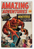 Silver Age (1956-1969):Horror, Amazing Adventures #5 (Marvel, 1961) Condition: VG+....
