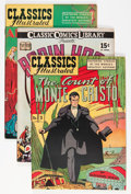 Golden Age (1938-1955):Classics Illustrated, Classic Comics Group (Gilberton, 1942-46) Condition: Average FN-.... (Total: 12 Comic Books)