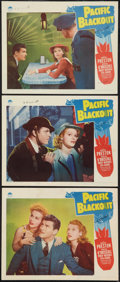 "Movie Posters:Mystery, Pacific Blackout (Paramount, 1941). Lobby Cards (3) (11"" X 14""). Mystery.. ... (Total: 33 Items)"