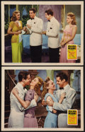"Movie Posters:Musical, Moon Over Miami (20th Century Fox, 1941). Lobby Cards (2) (11"" X 14""). Musical.. ... (Total: 2 Items)"