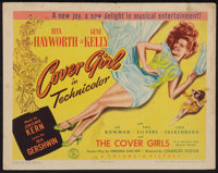 """Cover Girl (Columbia, 1944). Title Lobby Card (11"""" X 14""""). Musical"""