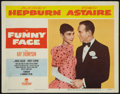 "Movie Posters:Romance, Funny Face (Paramount, 1957). Lobby Card (11"" X 14""). Romance.. ..."