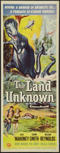 """Movie Posters:Science Fiction, The Land Unknown (Universal International, 1957). Insert (14"""" X36""""). Science Fiction.. ..."""