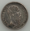 Mexico, Mexico: Two early Crowns 1838, 1866,... (Total: 2 coins)