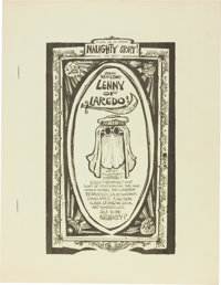 Lenny of Laredo #1 First Printing File Copy (Sunbury Productions, 1965) Condition: NM-